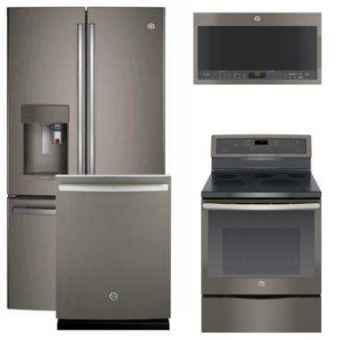 jcpenney.com | GE® 4-pc. Electric Kitchen Package- Slate