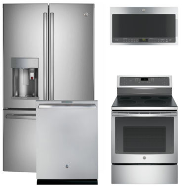 jcpenney.com | GE® 4-pc. Electric Kitchen Package- Stainless Steel