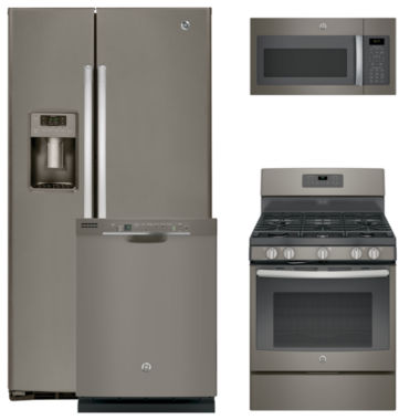 jcpenney.com | GE® 4-pc. Gas Kitchen Package- Slate