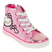 Hello Kitty® Jasmine Girls High-Top Sneakers - Toddler
