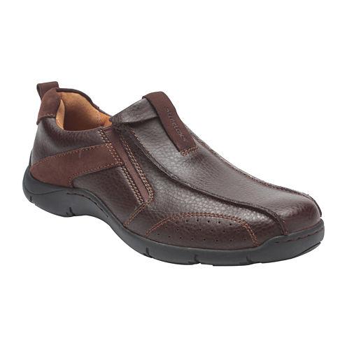 Streetcars® Saddleback Mens Leather Slip-On Shoescopy