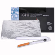 iCHI® Winter Wonderland Flat Iron + Sequin Thermal Bag