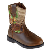 Realtree® Dustin Boys Camo Boots - Little Kids/Big Kids