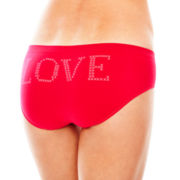 Flirtitude® Seamless Hipster Panties