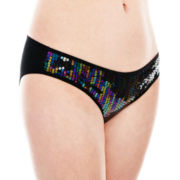 Flirtitude® Sequin Hipster Panties