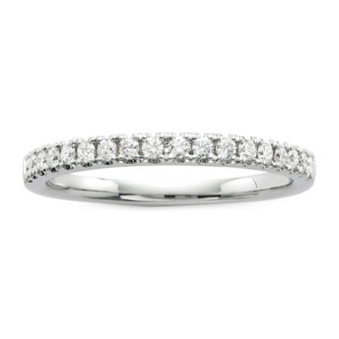 jcpenney.com | Modern Bride® Signature 1/4 CT. T. W. Diamond 14K White Gold Wedding Band