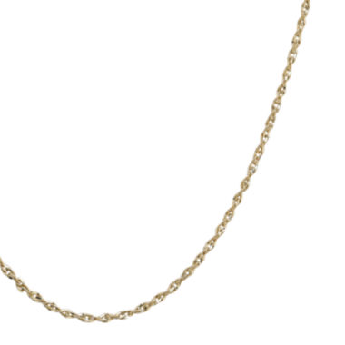 "jcpenney.com | Infinite Gold™ 14K Yellow Gold 16"" Perfectina Chain Necklace"