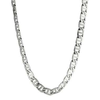 "jcpenney.com | Mens Stainless Steel 24"" 4mm Foxtail Chain"