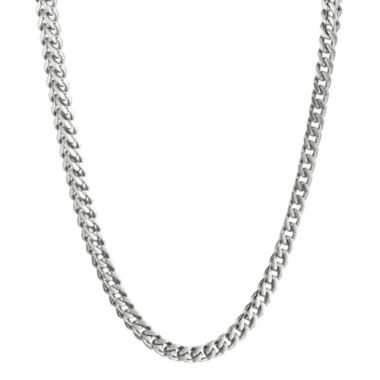 "jcpenney.com | Mens Stainless Steel 20"" 4mm Foxtail Chain"