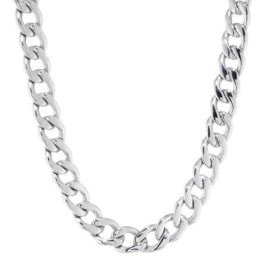 "jcpenney.com | Mens Stainless Steel 22"" 13mm Chunky Curb Chain"