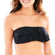 Stylus™ Ruffled Bandeau Swim Top