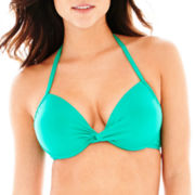 Stylus™ Pushup Halter Bra Swim Top