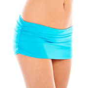Stylus™ Shirred Skirted Swim Bottoms