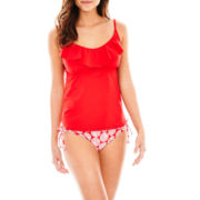 Stylus™ Ruffle Tankini Swim Top or Keyhole Hipster Bottoms
