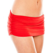 Stylus™ Shirred Skirted Swim Bottoms