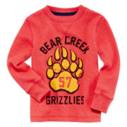 Arizona Long-Sleeve Thermal Graphic Tee - Boys 2t-6