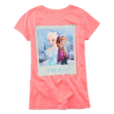 jcpenney.com | Mighty Fine Let It Go Hashtag Tee - Girls 7-16