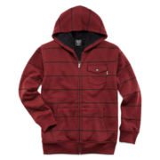 Zoo York® Zip-Front Sherpa Fleece Hoodie – Boys 8-20