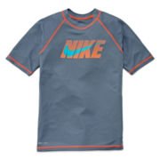 Nike® Short-Sleeve Hydro Swim Tee – Boys 8-20