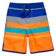 Arizona Striped Swim Trunks – Boys 4-7