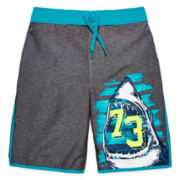 Arizona Shark Swim Trunks – Boys 8-20
