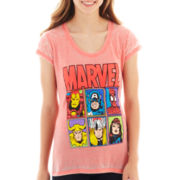 Marvel® Short-Sleeve Burnout Graphic Tee