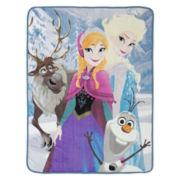 Disney Frozen Friends Silk Touch Throw