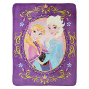 Disney Frozen Nordic Love Silk Touch Throw
