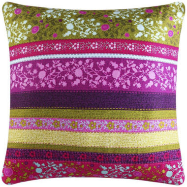 jcpenney.com | Q by Queen Street® Laurel Square Decorative Pillow