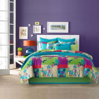 jcpenney.com | Q by Queen Street® Yvonne Floral Comforter Set & Accessories