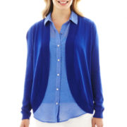 Liz Claiborne Shawl-Collar Cardigan Sweater