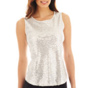 Liz Claiborne Sequin Tank Top