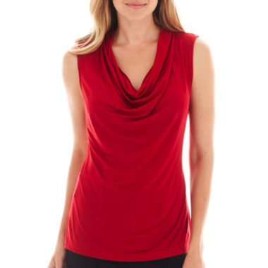 jcpenney.com | Worthington® Sleeveless Cowlneck Top - Tall