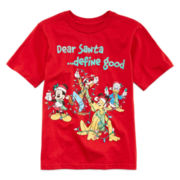 Disney Fab 4 Glow-in-the-Dark Christmas Graphic Tee – Boys 2-12