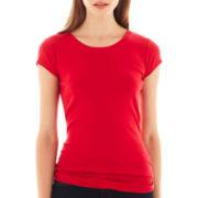 jcp™ Short-Sleeve Crewneck T-Shirt