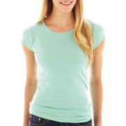 jcp™ Short-Sleeve Crewneck T-Shirt