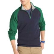 IZOD® Quarter-Zip Raglan Fleece Pullover