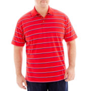 The Foundry Supply Co.™ Patterned Pima-Rich Polo–Big & Tall