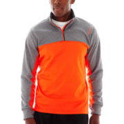 Reebok® Quarter-Zip Top