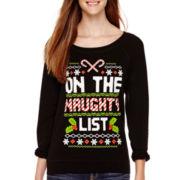 Long-Sleeve Christmas Sweatshirt