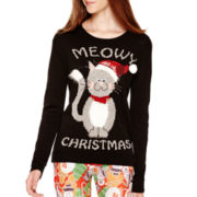 Love by Design Long-Sleeve Christmas Sweater