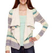 Love by Design Long-Sleeve Sherpa Cozy Sweater