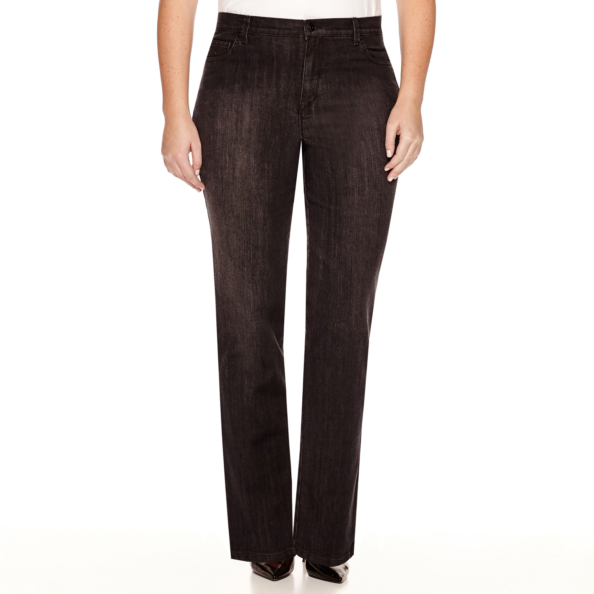 Gloria Vanderbilt Amanda Embroidered Jeans - Plus