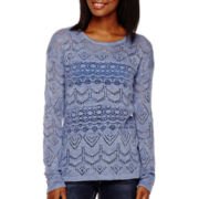 Love by Design Long-Sleeve Tunic Sweater