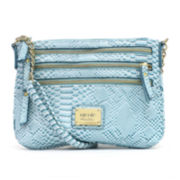 nicole by Nicole Miller® Shay Multi Zip Crossbody Bag