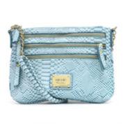 nicole by Nicole Miller® Shay Multi Zip Crossbody Bag