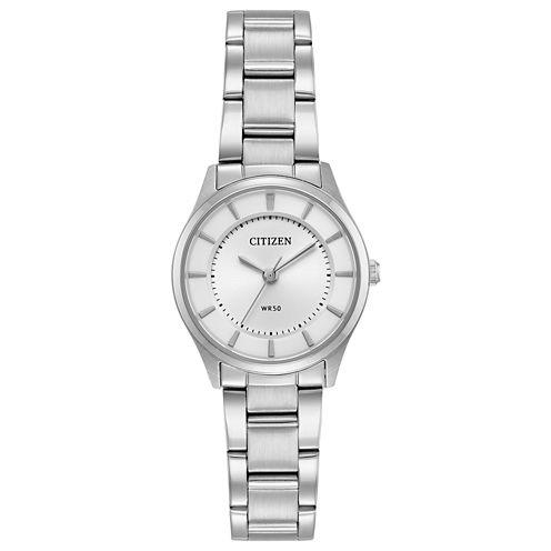 Citizen Womens Silver Tone Bracelet Watch-Er0201-56a