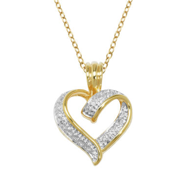 jcpenney.com | Sparkle Allure White Diamond Accent Pendant Necklace