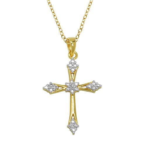 Sparkle Allure Womens Diamond Accent Pendant Necklace