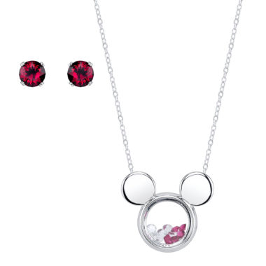 jcpenney.com | Disney Silver Over Brass Jewelry Set